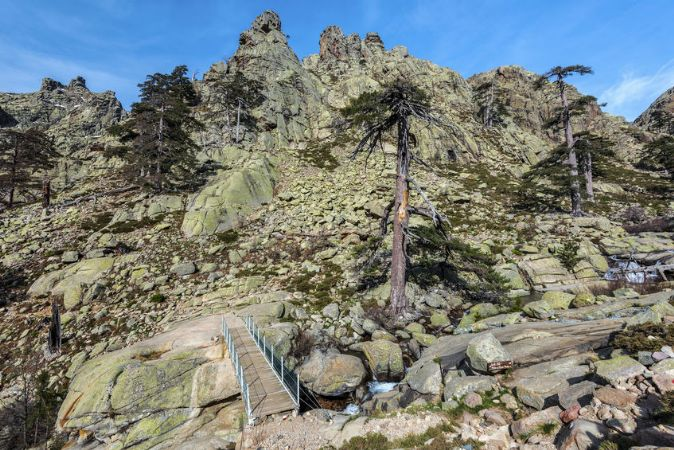 GR20 Les sentiers de randonnées en Corse